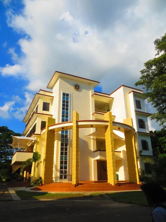 """Fr. Raul """"Rolly"""" Bonoan, S.J. Building."""