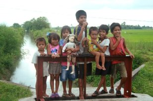 Children from Magarao.