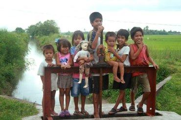 Children from Magarao.